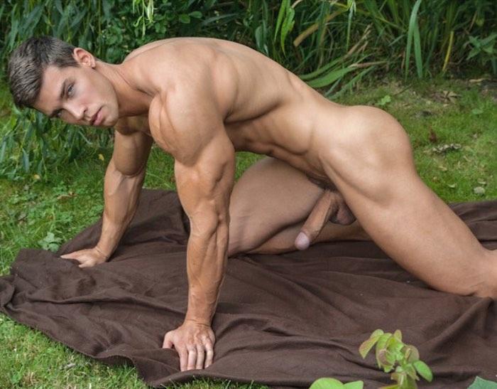 Kris Evans BelAmi Gay Porn Star Naked Big Dick Rick Day