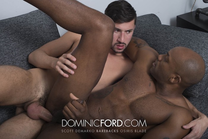 Scott DeMarco Gay Porn Osiris Blade Bareback DominicFord
