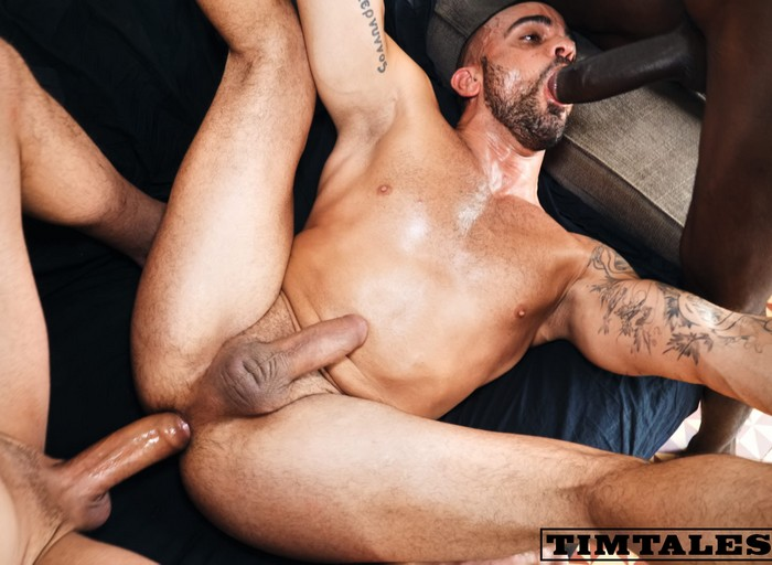Damien Crosse Gay Porn Bottom Big Dicks Bareback TimTales