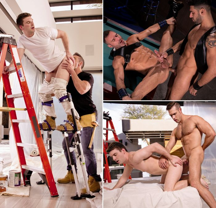 Gay Porn Alex Mecum Dustin Holloway Mick Stallone Manuel Skye