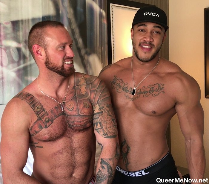 Jason Vario Michael Roman Muscular Gay Porn Stars
