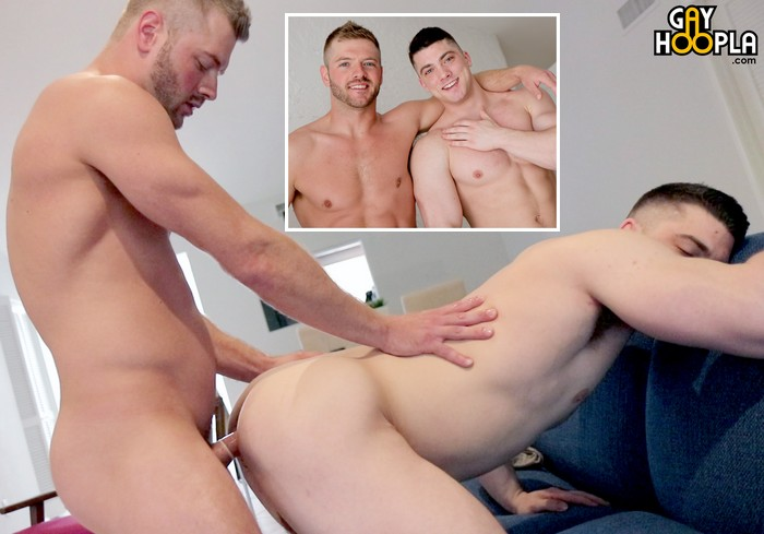 Sean Holmes Collin Simpson Gay Porn Muscle Jock