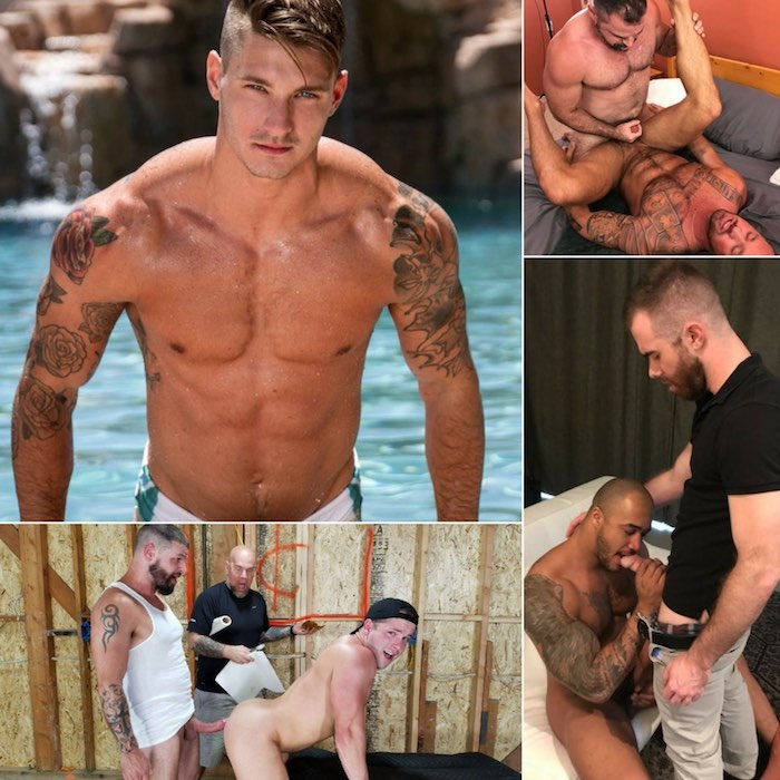 Gay Porn Clark Parker Michael Roman Jason Vario Matthew Bosch Luke Adams