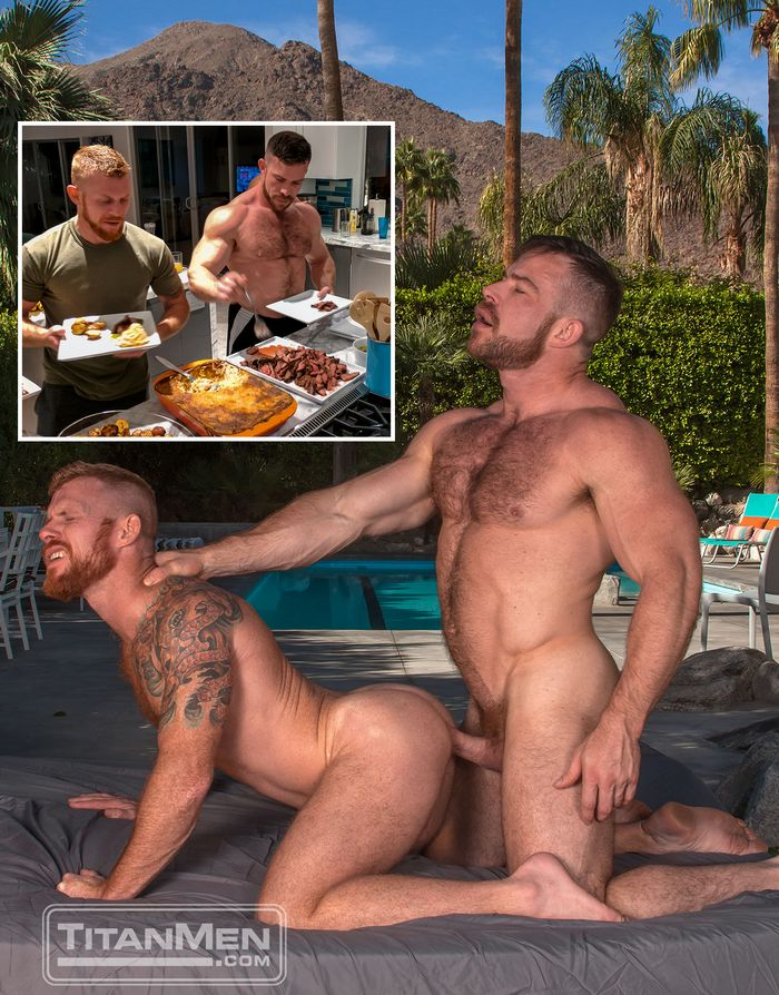 Gay Porn Liam Knox Jack Vidra Outdoor Fucking Palm Springs TitanMen