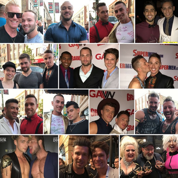 Gay Porn Stars Grabby Awards 2017
