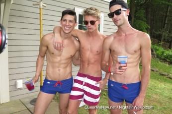 CockyBoys Pool Party Gay Porn Stars-77