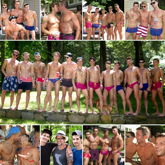 Gay Porn Stars CockyBoys 10 Anniversary Pool Party