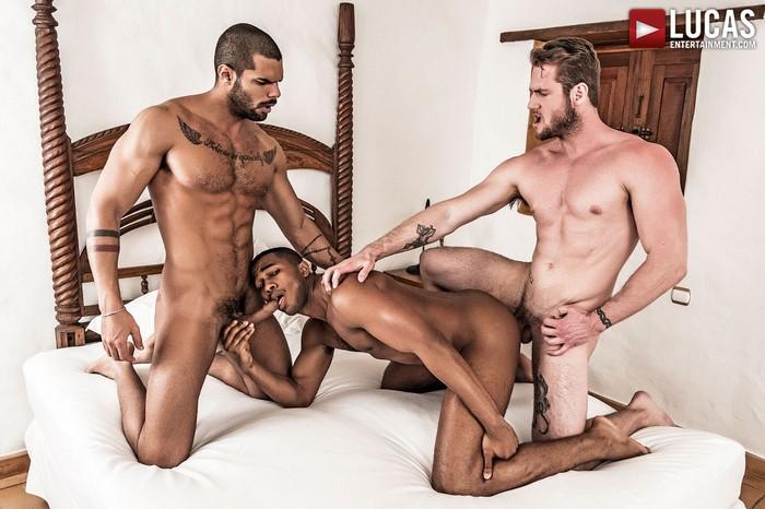 Sean Xavier Gay Porn Ace Era Lucas Fox Bareback Sex