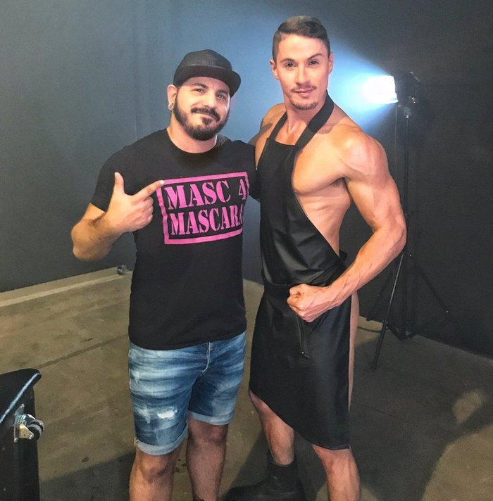 Skyy Knox Nick Foxx Gay Porn Behind The Scenes