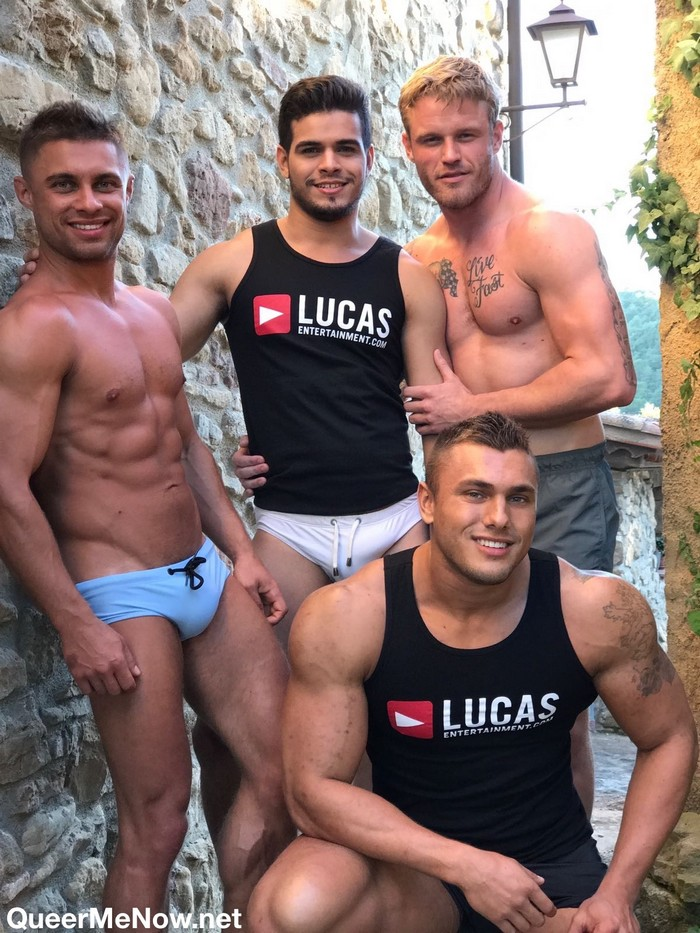 Brock Magnus Gay Porn Star Bodybuilder Czech