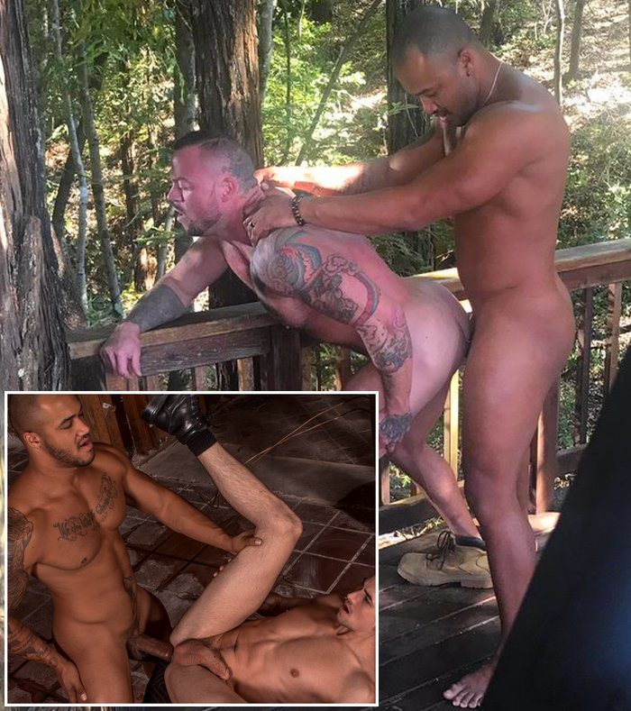 Jason Vario Gay Porn Sean Duran Jack Hunter