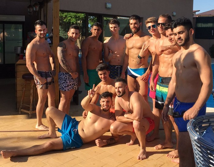 Male Muscular Webcam Models Aphrodite Boys Pool Party 2017