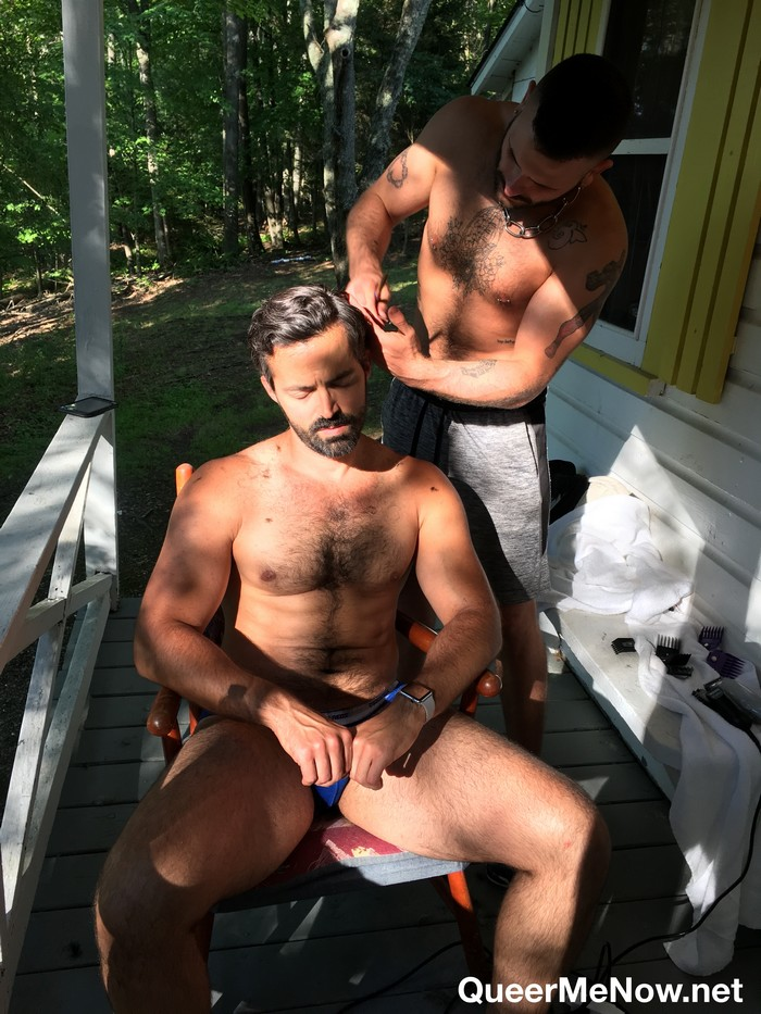 Gay Porn Behind The Scenes Maverickmen Filming Raw Sex -9342