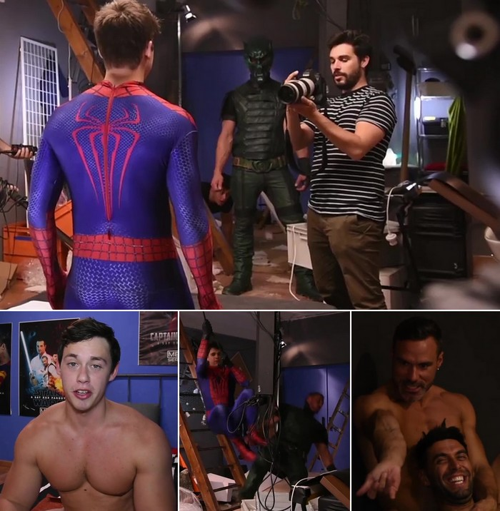 from Memphis gay spiderman clip