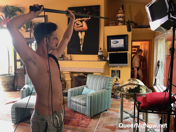 Gay Porn Behind The Scenes Alejandro Castillo Cody Winter