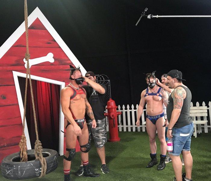 Gay Porn Behind The Scenes Michael Roman Gabriel Cross Jake Ashford