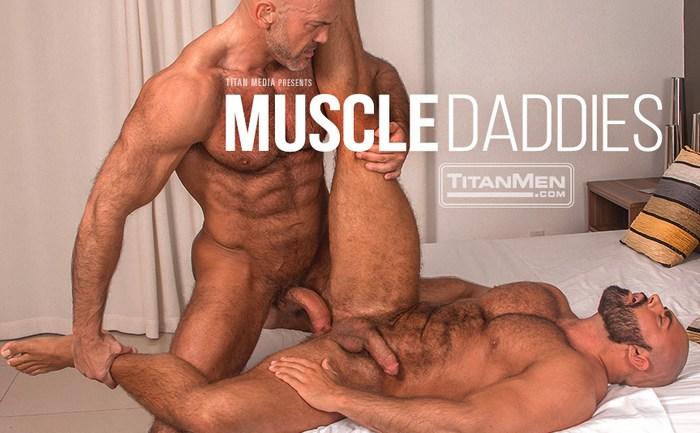 Jesse Jackman Gay Porn Steve Roman TitanMen Muscle Daddies