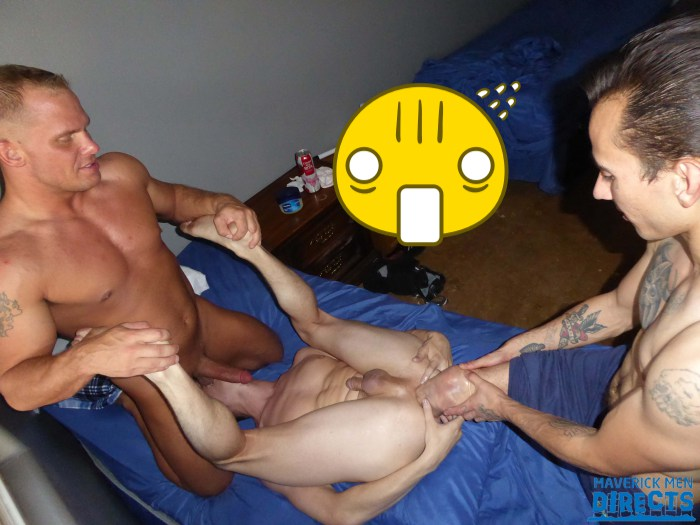 Leg Amputation Gay Porn James Dickson MaverickMen Austin Andrews