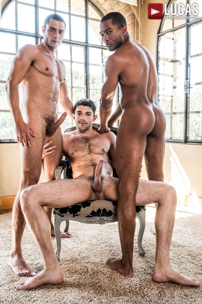 Ben Batemen Gay Porn Double Penetration Sean Xavier Javi Velaro Bareback