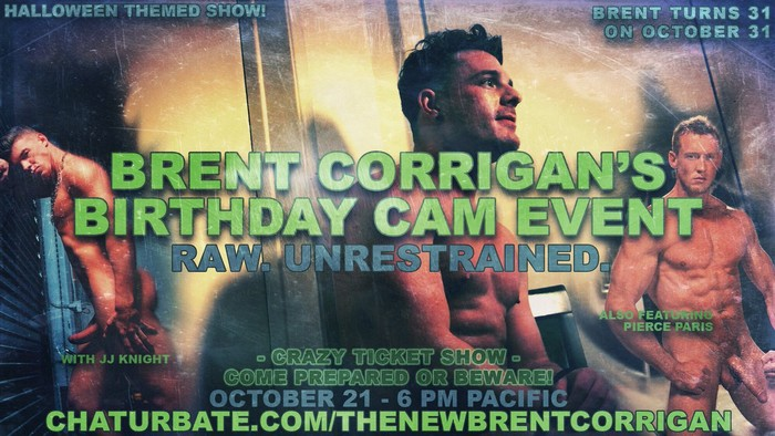 Brent Corrigan JJ Knight Pierce Paris Chaturbate Webcam
