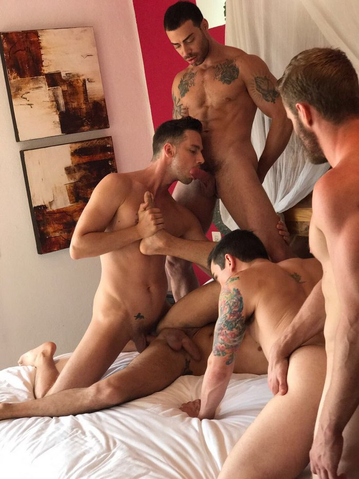 Gay Porn Orgy Shawn Reeve Dakota Payne Damon Heart Carlos Lindo