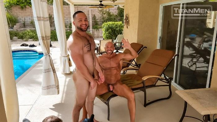 Gay Porn Behind The Scenes TitanMen Jesse Jackman Julian Knowles