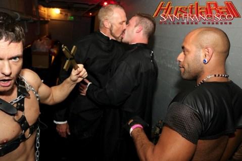 HustlaBall San Francisco Gay Porn Stars Backstage 16