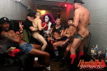 HustlaBall San Francisco Gay Porn Stars Backstage 39