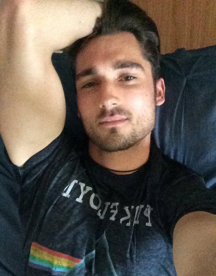 Luke Wilder Gay Porn Star Helix Studios Selfie