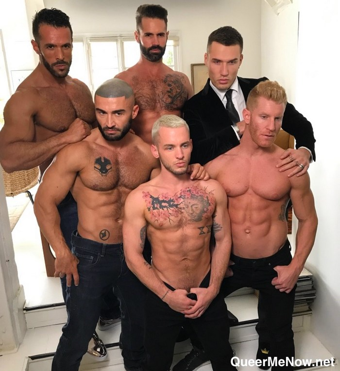 Paris Perfect Gay Porn NakedSword Francois Sagat JohnnyV Colton Grey Dani Robles Theo Ford Denis Vega BTS