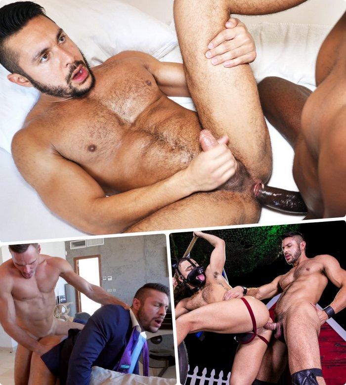 Seth Santoro Gay Porn Bottom Big Cock Bareback