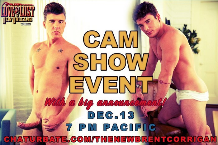 Brent Corrigan JJ Knight Gay Porn Stars Chaturbate Webcam December 2017