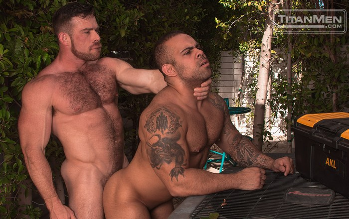 Liam Knox Gay Porn Lorenzo Flexx Muscle Hunks TitanMen Big Brother