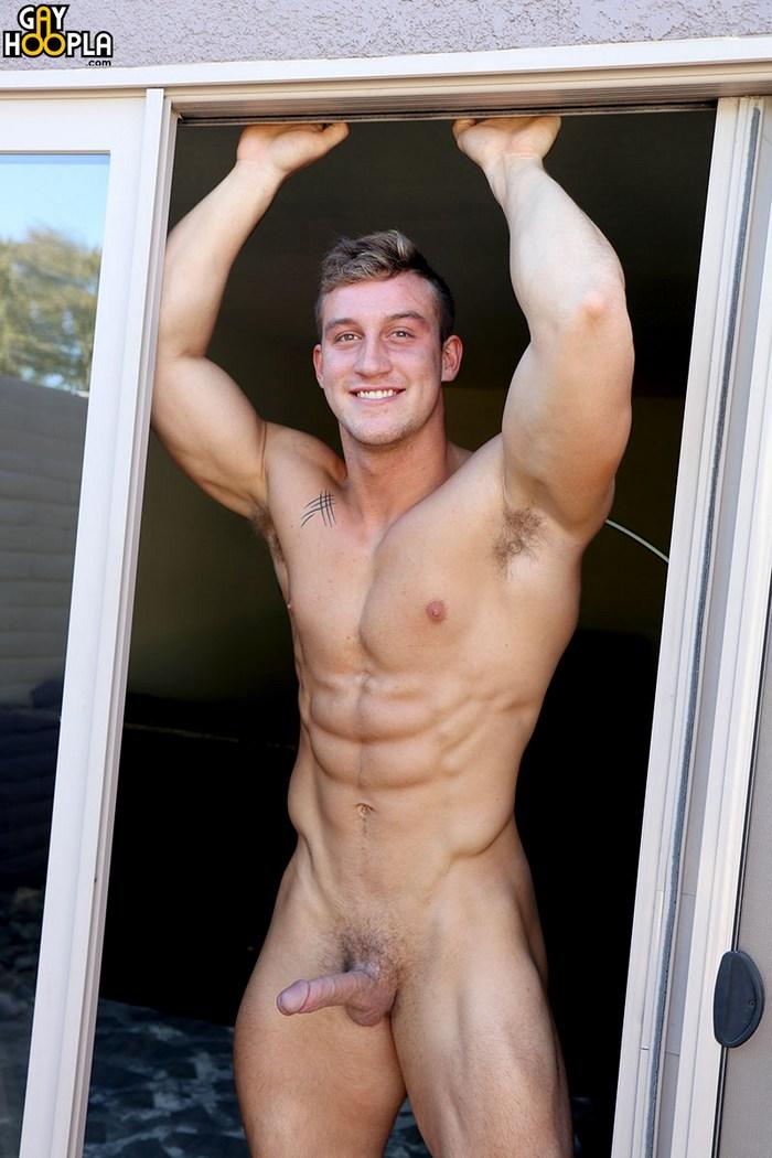 Max Warner GayHoopla Muscle Jock Naked Jamie Branson