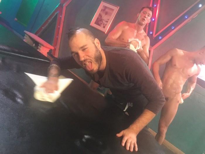 Pierce Paris Skyy Knox Gay Porn Behind The Scenes