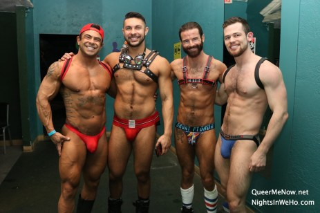 Gay Porn Stars HustlaBall Las Vegas 2018 01