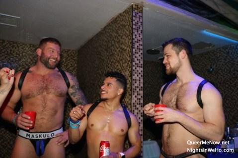 Gay Porn Stars HustlaBall Las Vegas 2018 19