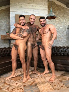 Gay Porn Stars Behind The Scenes LucasEnt Barcelona 2018 04