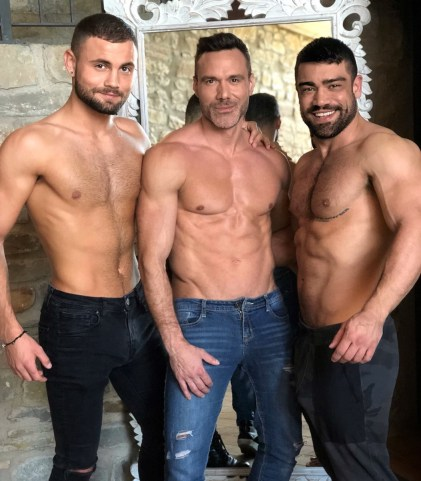 Gay Porn Stars Behind The Scenes LucasEnt Barcelona 2018 13