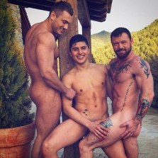 Gay Porn Stars Behind The Scenes LucasEnt Barcelona 2018 18