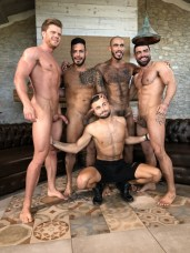 Gay Porn Stars Behind The Scenes LucasEnt Barcelona 2018 28