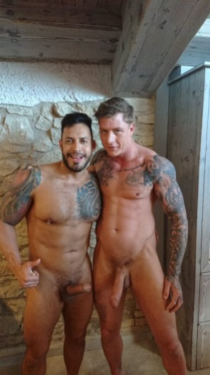 Gay Porn Stars Behind The Scenes LucasEnt Barcelona 2018 32