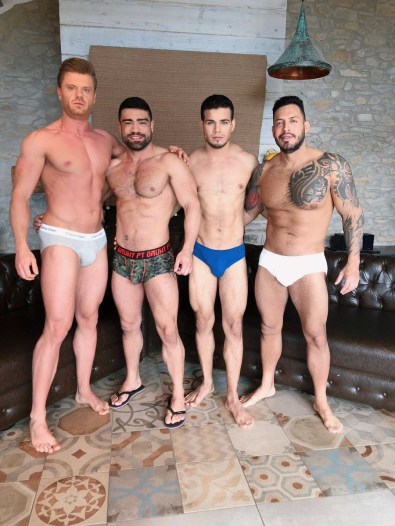 Gay Porn Stars Behind The Scenes LucasEnt Barcelona 2018 33