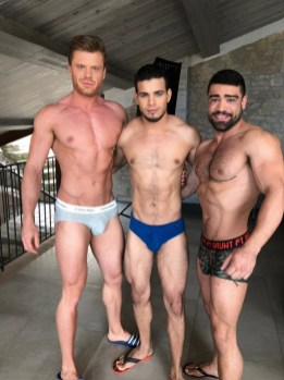 Gay Porn Stars Behind The Scenes LucasEnt Barcelona 2018 36