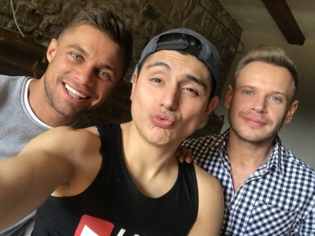 Gay Porn Stars Behind The Scenes LucasEnt Barcelona 2018 39