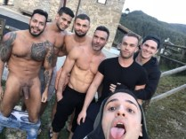 Gay Porn Stars Behind The Scenes LucasEnt Barcelona 2018 56