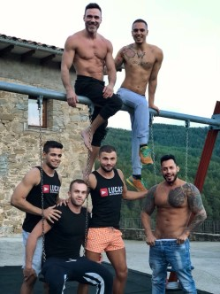 Gay Porn Stars Behind The Scenes LucasEnt Barcelona 2018 58