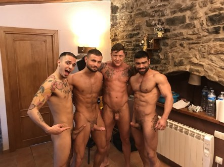 Gay Porn Stars Behind The Scenes LucasEnt Barcelona 2018 59