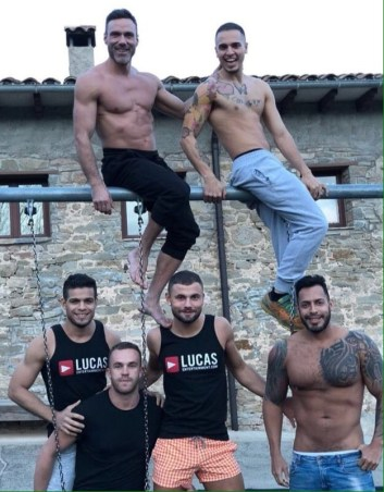 Gay Porn Stars Behind The Scenes LucasEnt Barcelona 2018 60