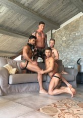 Gay Porn Stars Behind The Scenes LucasEnt Barcelona 2018 74